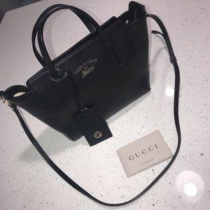Gucci swing mini crossbody bag